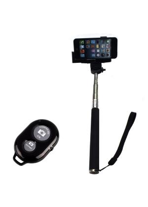 Micromaster - Monopod Con Control Bluetooth - Negro