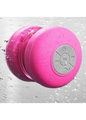 Parlante Bluetooth Resistente al Agua/Acuatico, para la Ducha - Fucsia