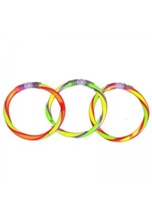 50 Pulseras Neon Glow Stick tricolor Ideal Fiestas Reus-micromaster