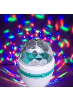 Generic - Foco Led Giratorio Enroscable para fiestas !! y reuniones-Micromaster