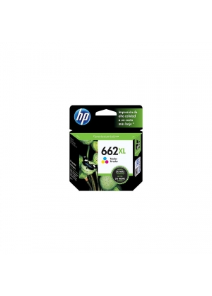HP - Cartucho De Tinta HP 662XL Ink Advantage - Tricolor