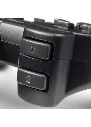 Cybertel - Mando Player USB para Juegos de Laptop o Computadora - Negro