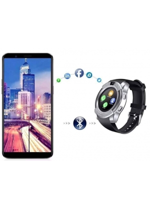Smart Watch bluetooth para Smartphone V8