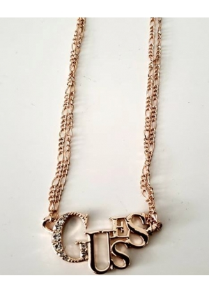 Hermoso COLLAR GUESS - Gold Metal - Exclusivo de U.S.A