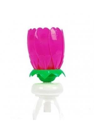 Micromaster - Vela de Flor Giratoria - Rosado