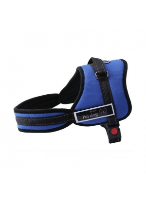 ARNÉS SENIOR PET DOG- TALLA M-AZUL
